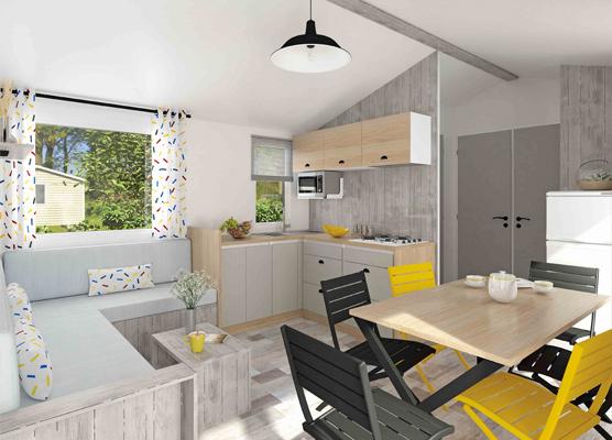 groupement seagreen vente mobil home privil ge 3 chambres france. Black Bedroom Furniture Sets. Home Design Ideas